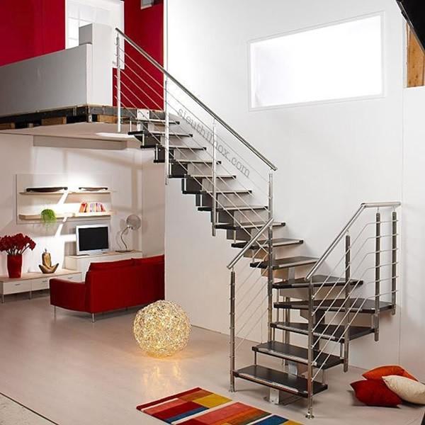 П-образная лестница из модулей